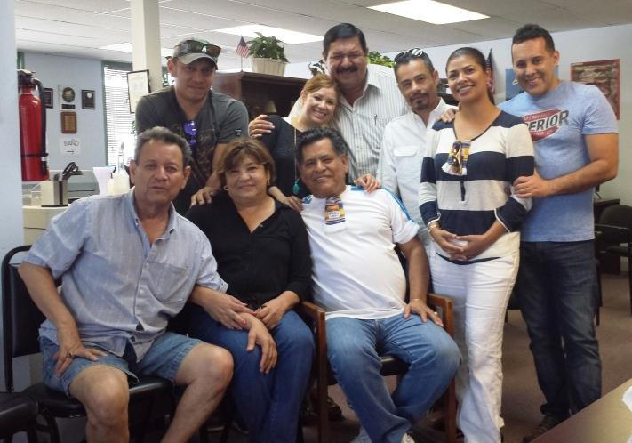 Gracias a SOS Migracion se llevo acabo una reunion de Miembros de Conguate para recabar fondos